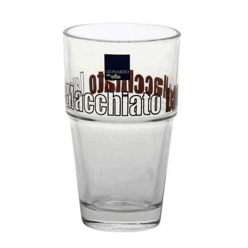 Leonardo Latte Macchiato Becher, Ca. 300 Ml, Glas, 4,99